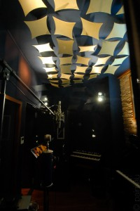 vocal booth / ceiling